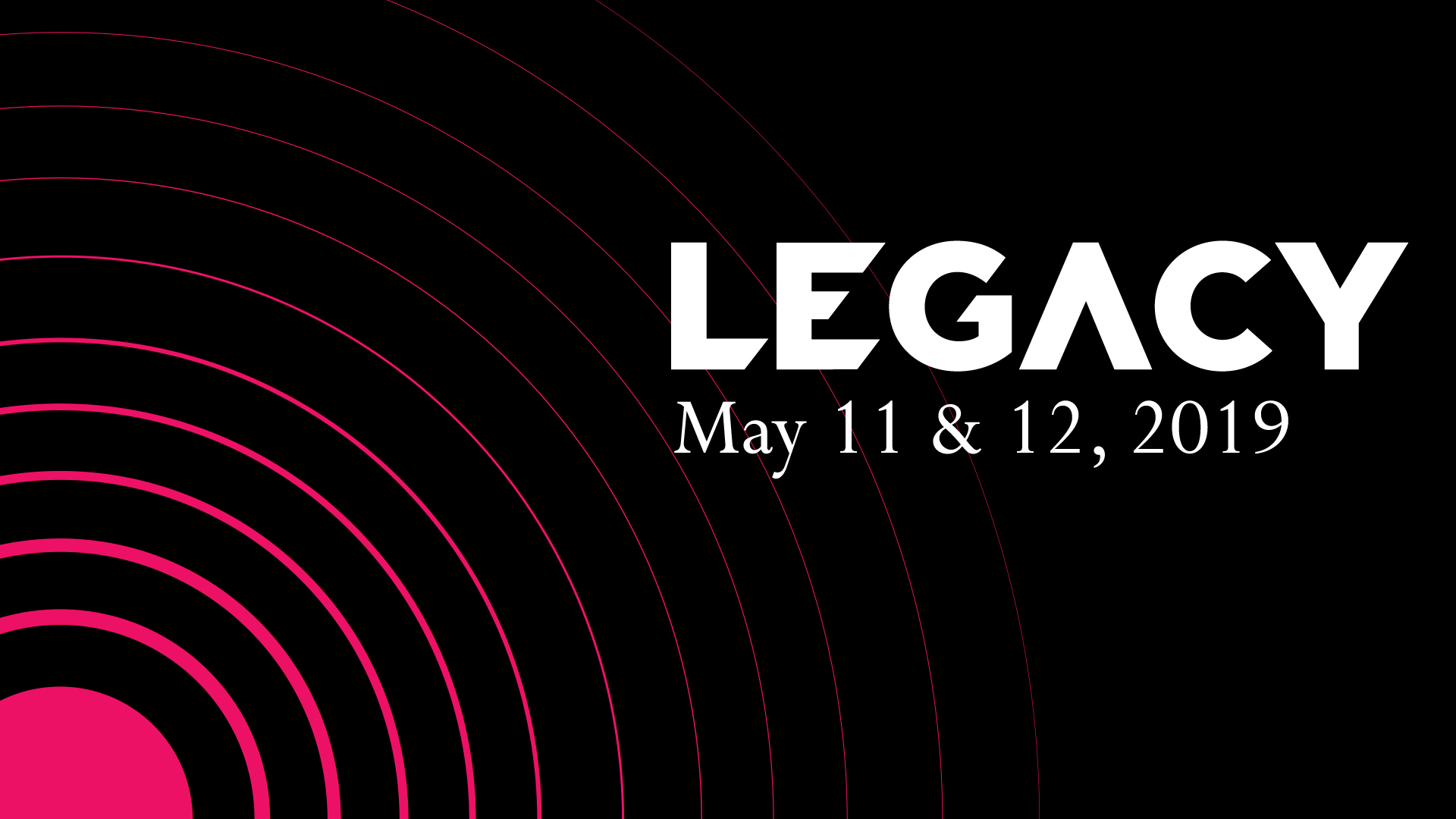 Spring Concert Series: Legacy